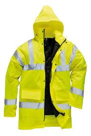 Raincoat with Reflectors